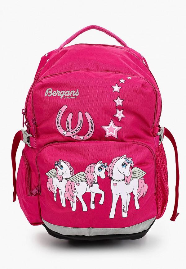 рюкзак bergans of norway для девочки, розовый