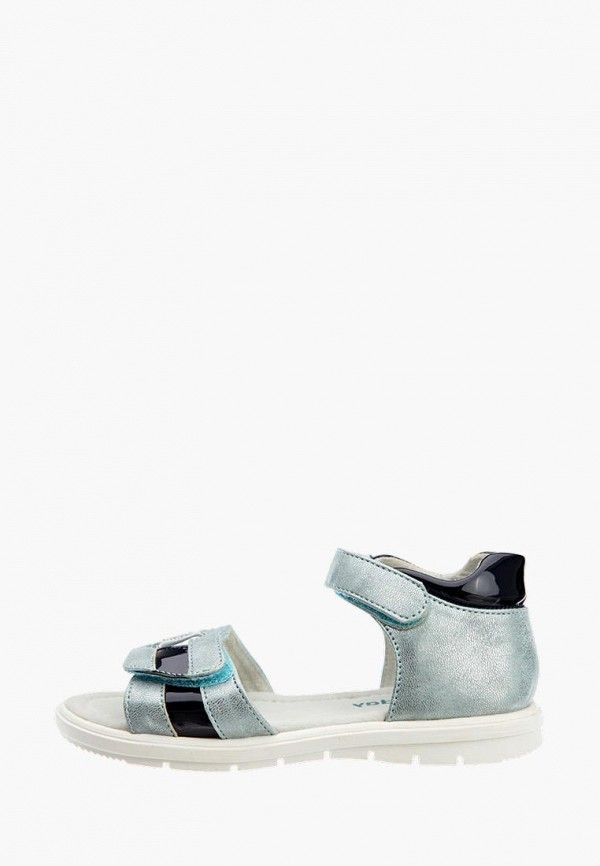 сандалии playtoday для девочки, серебряные