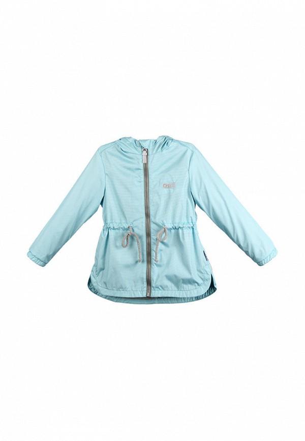 куртка kat для девочки, голубая