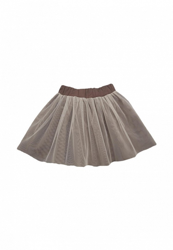 юбка ёмаё для девочки, коричневая