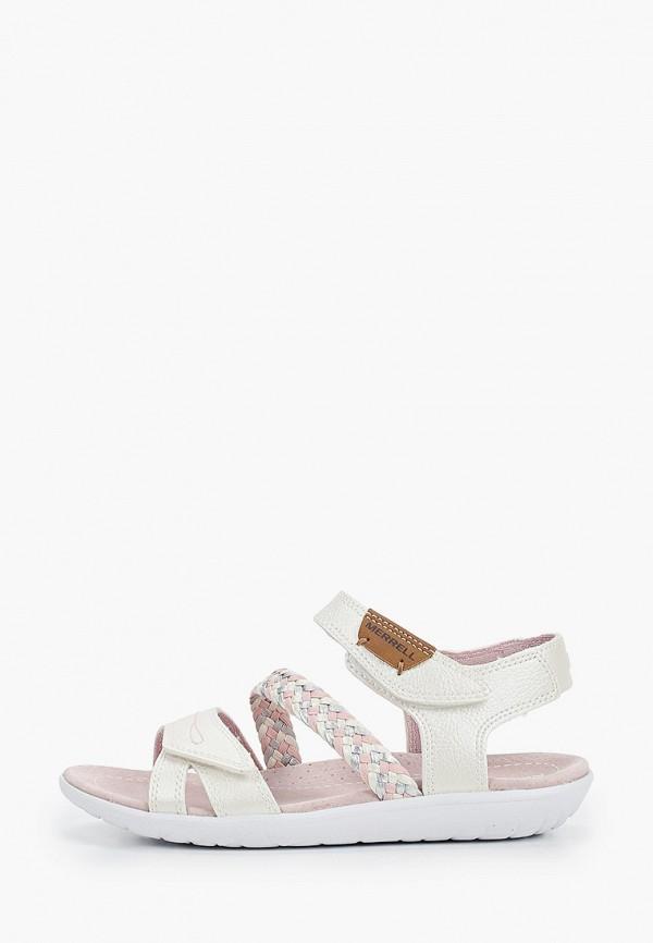 сандалии merrell для девочки, розовые