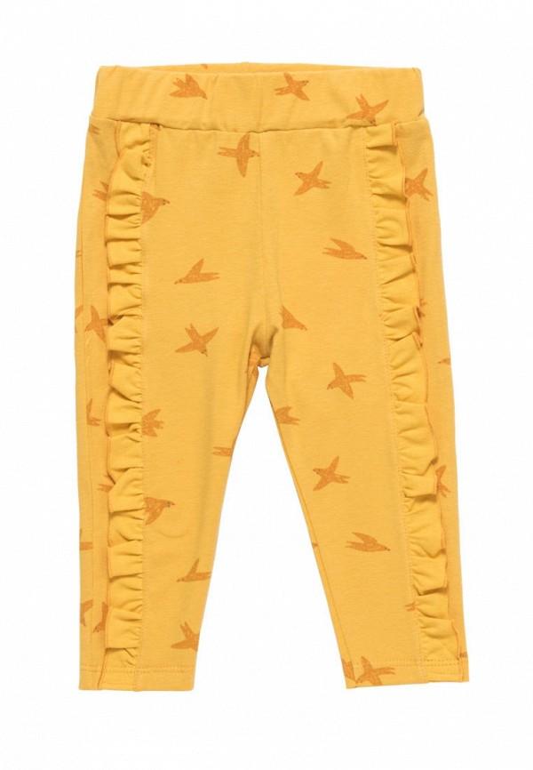 брюки artie для девочки, желтые