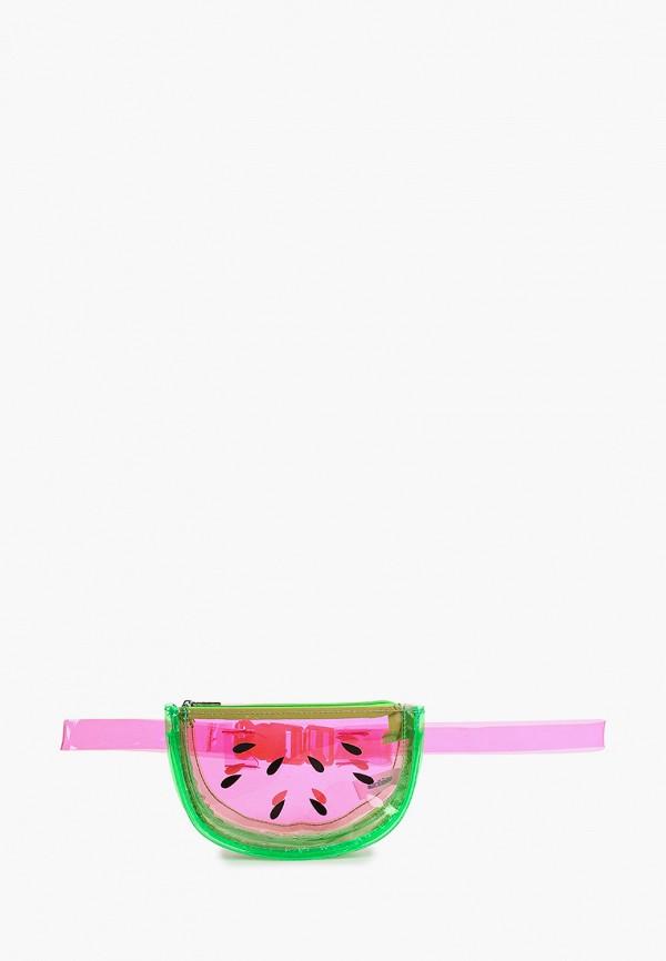 поясные сумка acoola для девочки, розовая