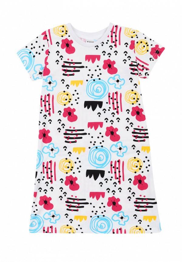 сорочка ночная garnamama для девочки, белые