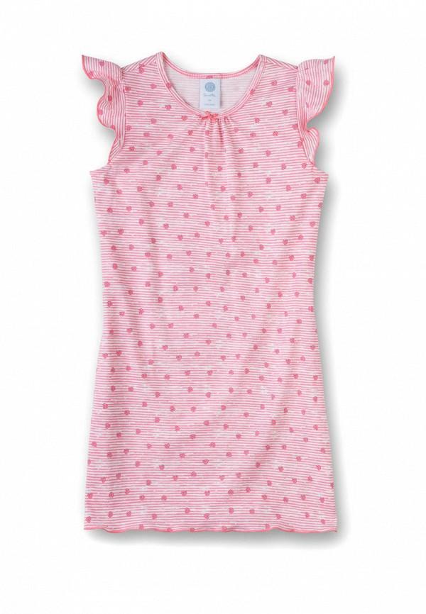 сорочка ночная sanetta для девочки, розовые
