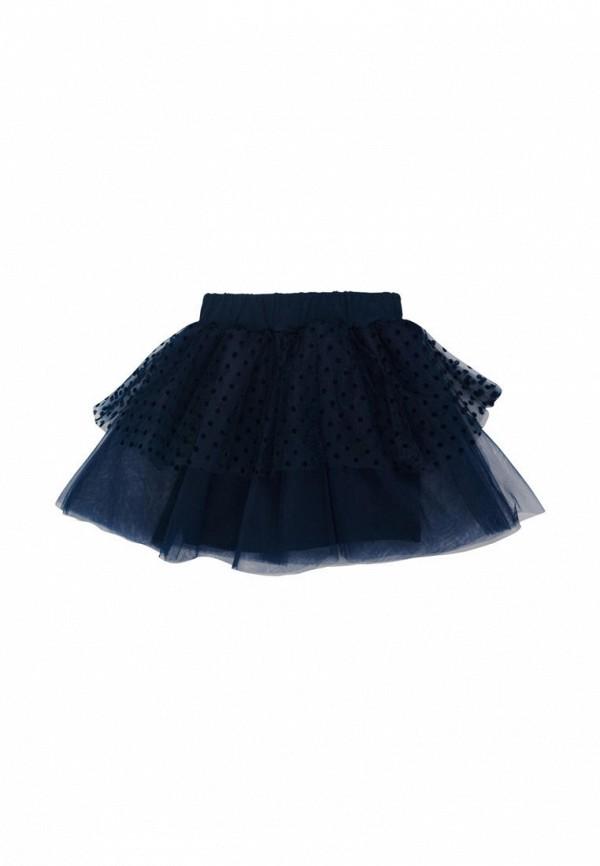 юбка ля-ля для девочки, синяя