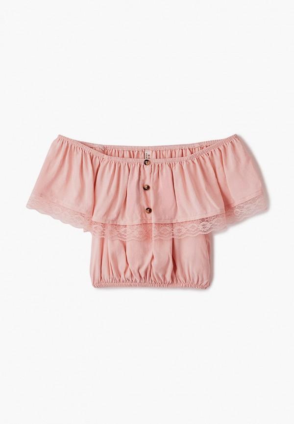топ defacto для девочки, розовый