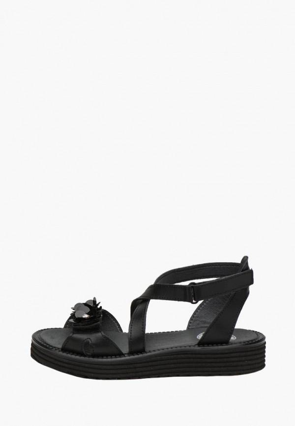 сандалии broni для девочки, черные