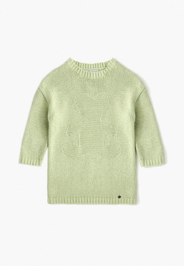 джемпер finn flare для девочки, зеленый