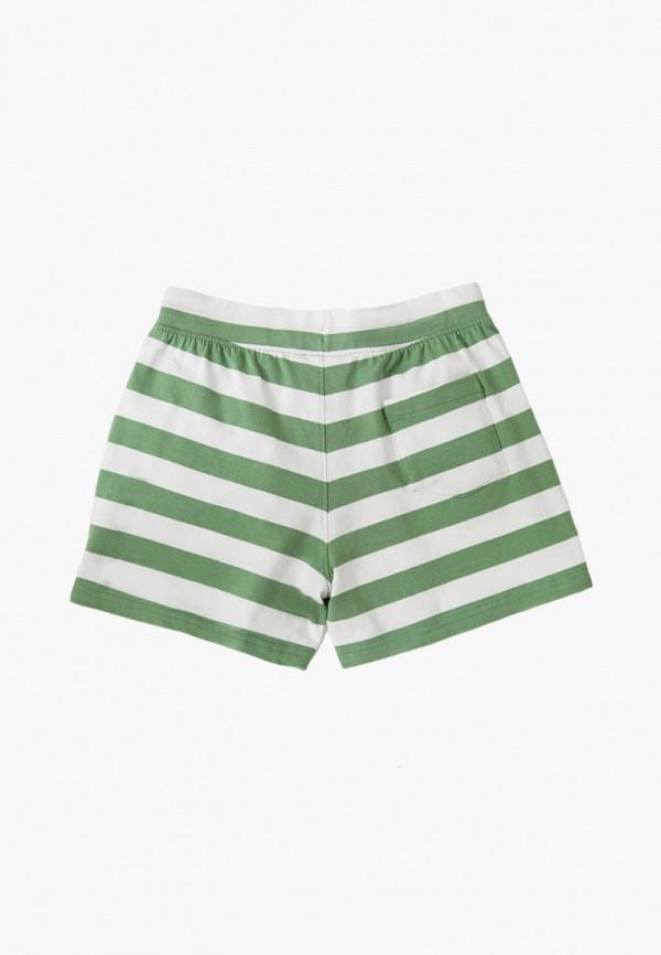Шорты Finn Flare зеленого цвета