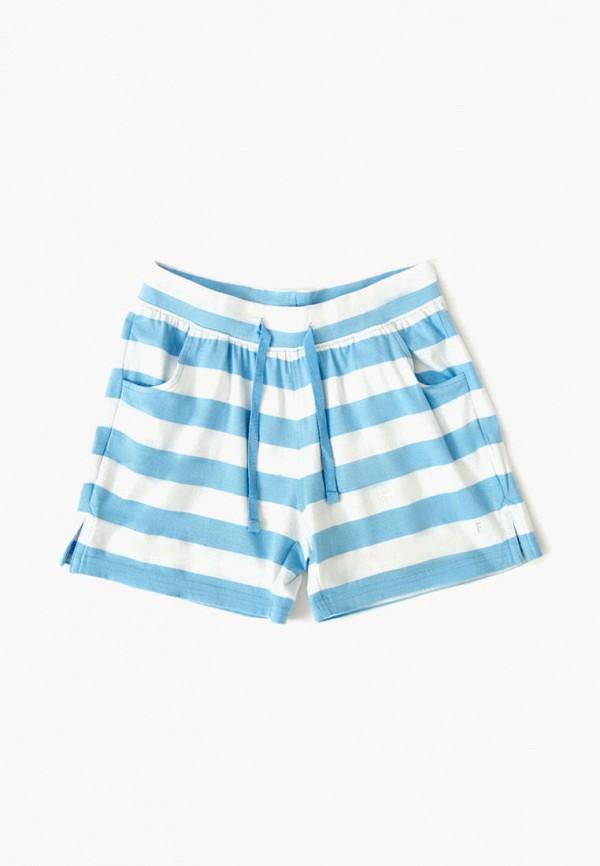 шорты finn flare для девочки, голубые