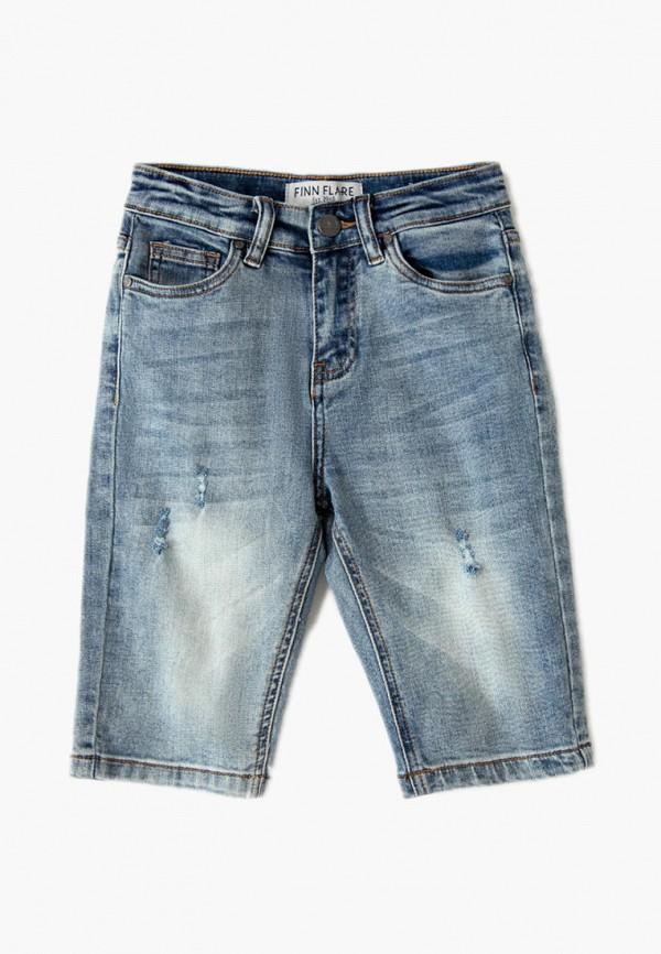 джинсовые шорты finn flare для девочки, голубые