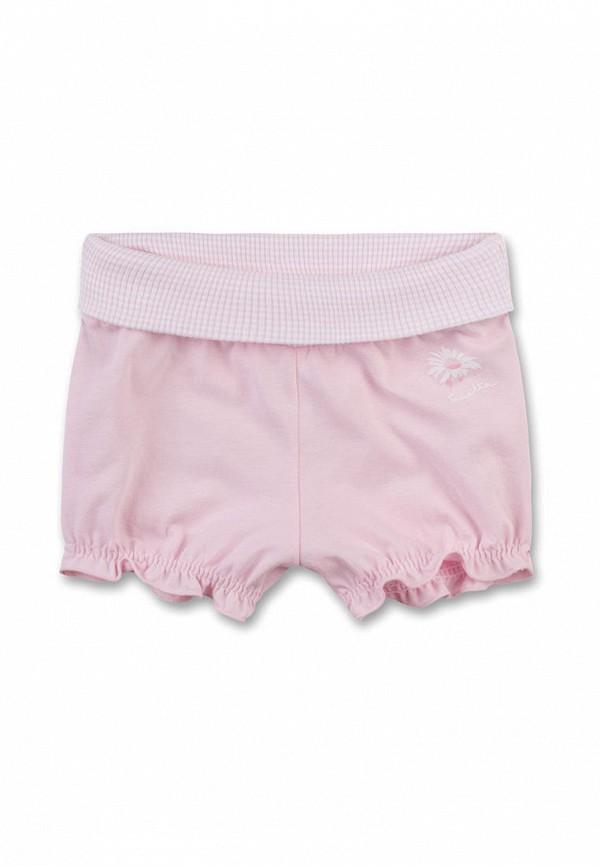 шорты sanetta для девочки, розовые