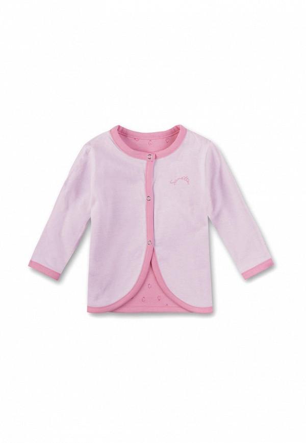 кардиган sanetta для девочки, розовый