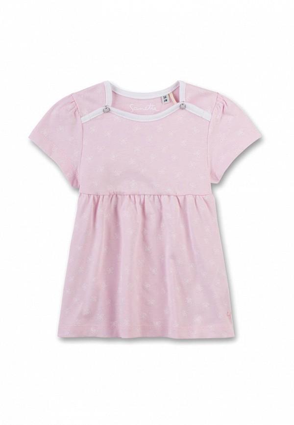 повседневные платье sanetta для девочки, розовое