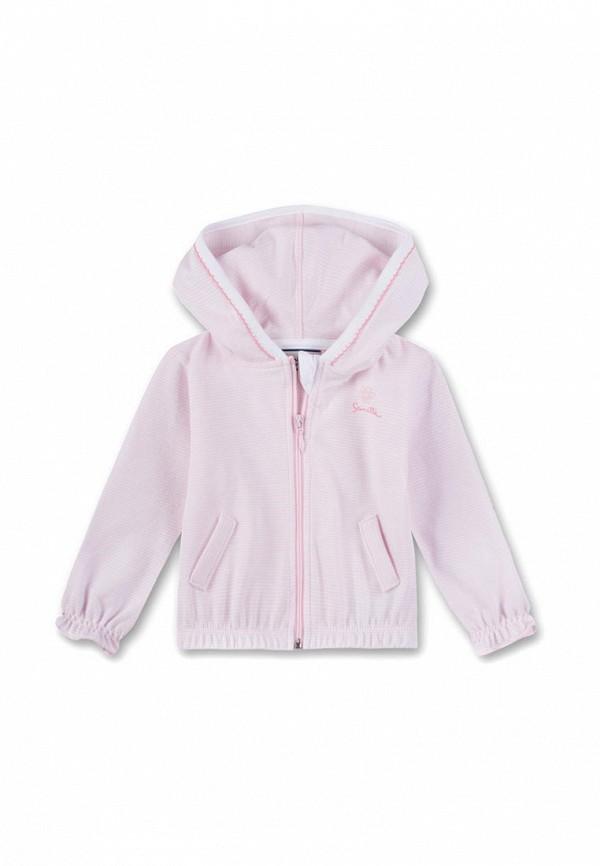 толстовка sanetta для девочки, розовая