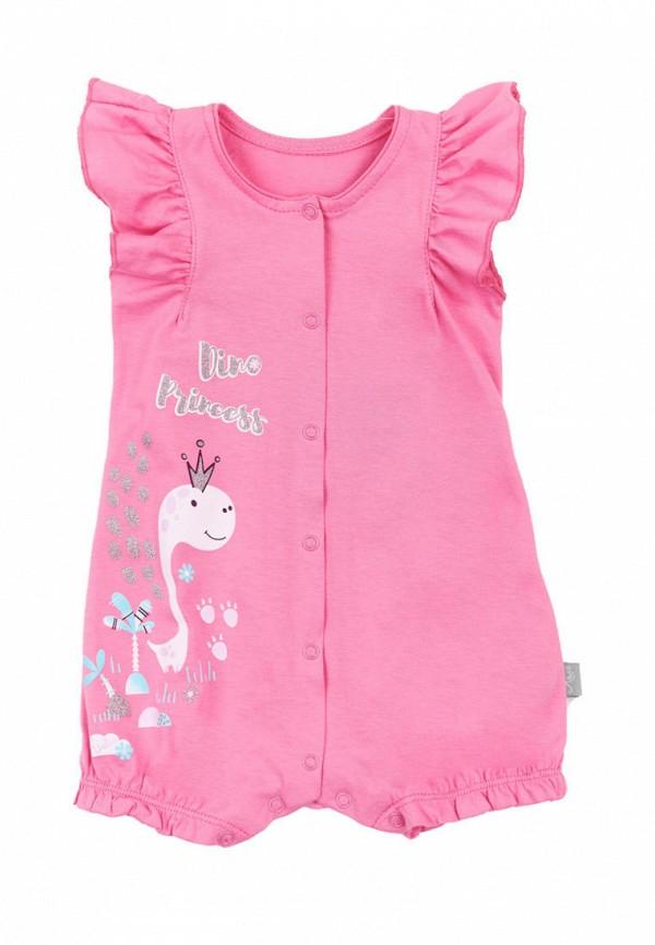 комбинезон ля-ля для девочки, розовый