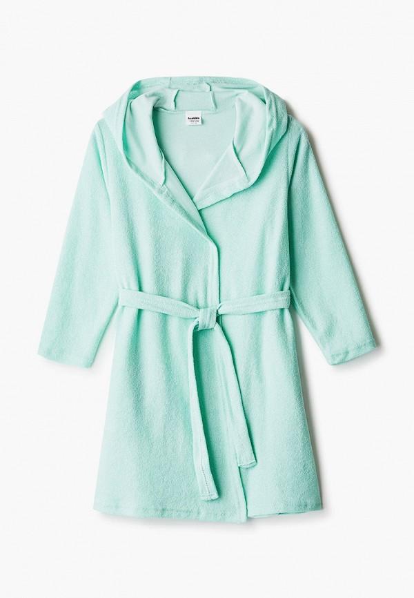халат looklie для девочки, зеленый