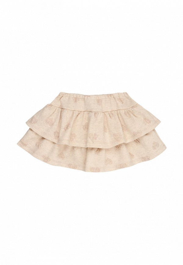 юбка bonka для девочки, бежевая