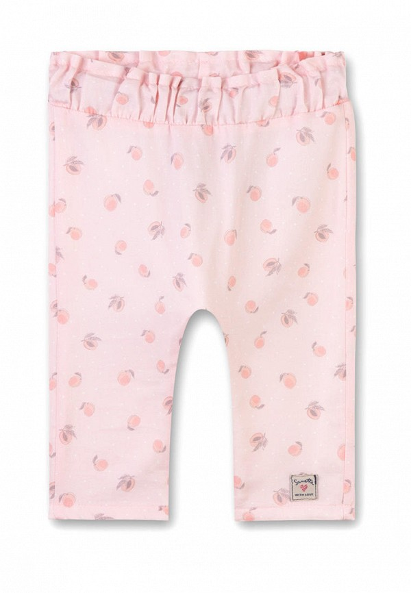 брюки sanetta для девочки, розовые
