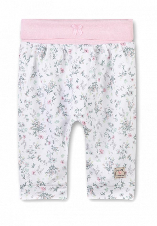 брюки sanetta для девочки, белые