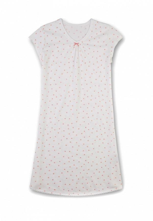 сорочка ночная sanetta для девочки, белые