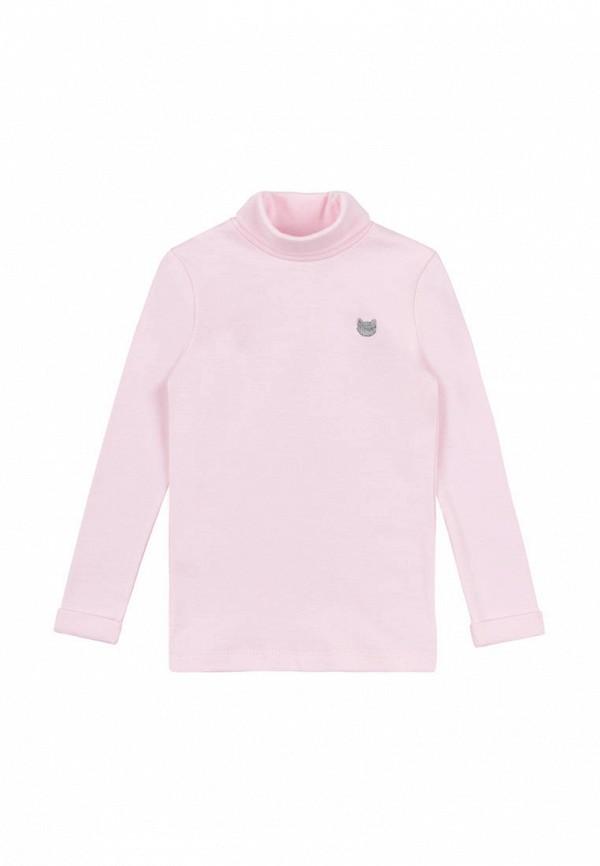 водолазка bonka для девочки, розовая
