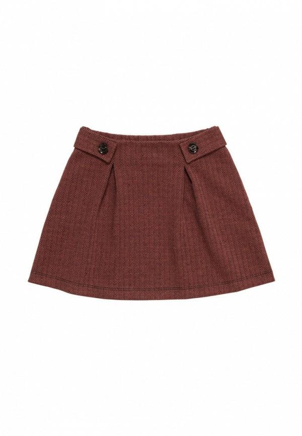юбка artie для девочки, коричневая