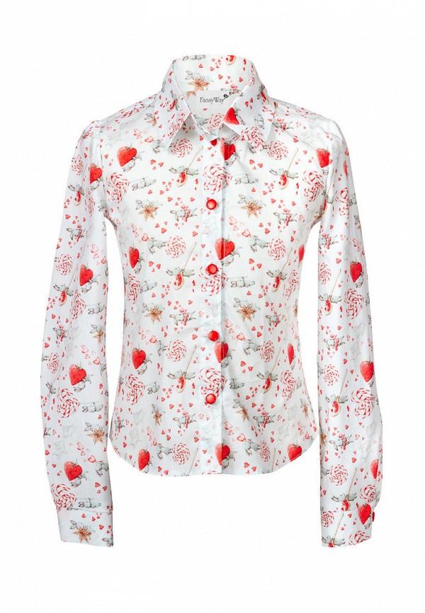 Рубашка FansyWay FansyWay  белый фото