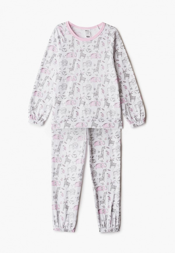 пижама котмаркот для девочки, серая