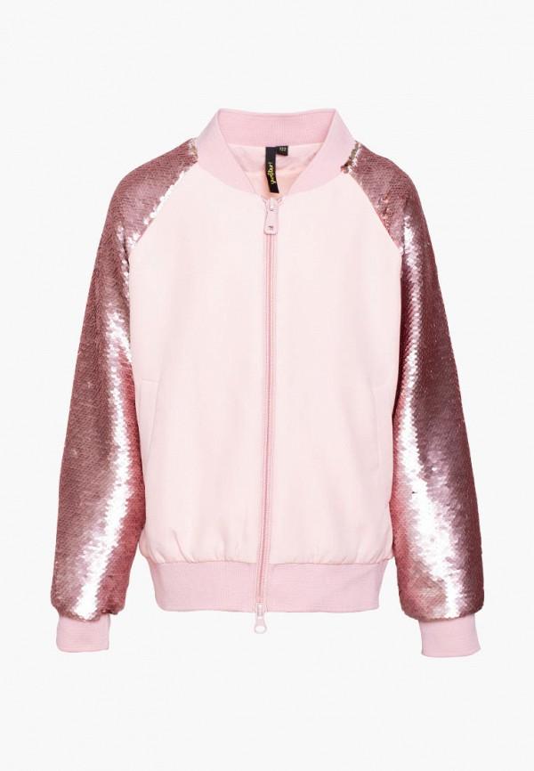 куртка yumster для девочки, розовая
