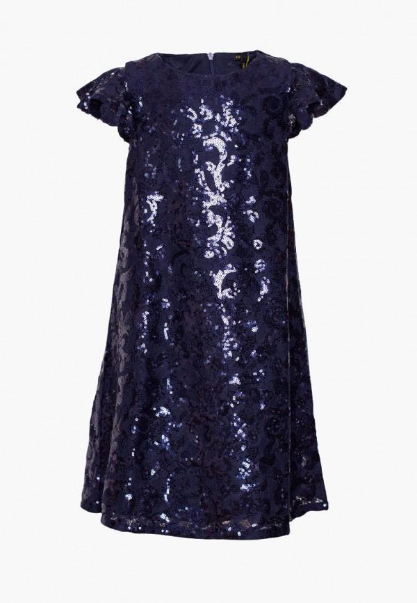 платье yumster для девочки, синее