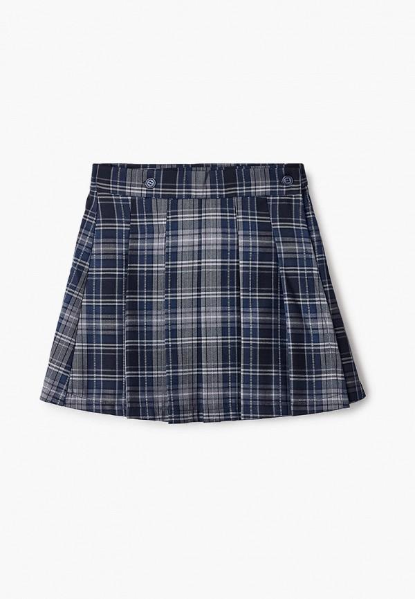 юбка ninomio для девочки, синяя