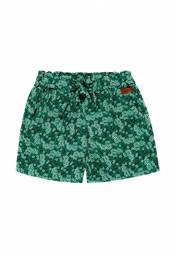 шорты boboli для девочки, зеленые