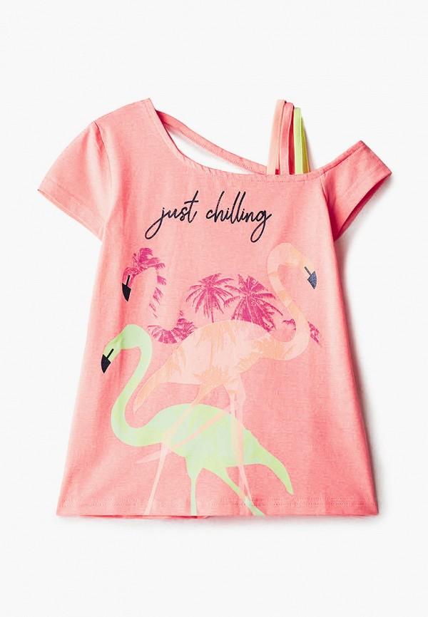 футболка с коротким рукавом coccodrillo для девочки