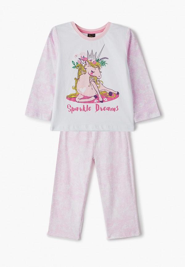 Пижама для девочки Belka цвет розовый