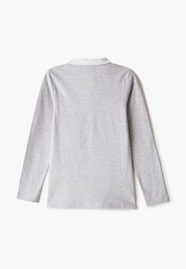Лонгслив для девочки Repost цвет серый  Фото 2