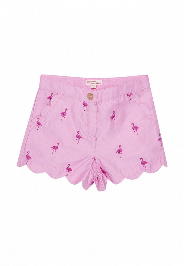 шорты du pareil au même для девочки, розовые