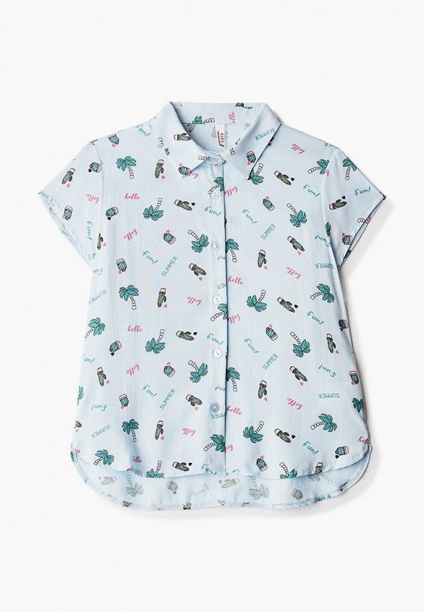 рубашка defacto для девочки, голубая