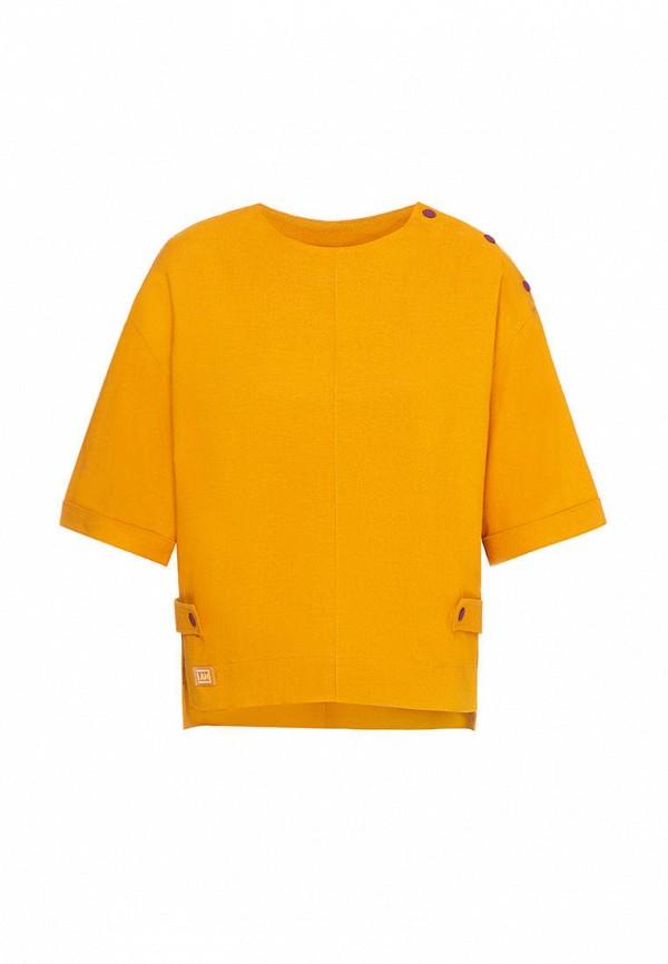 блузка i am для девочки, желтая