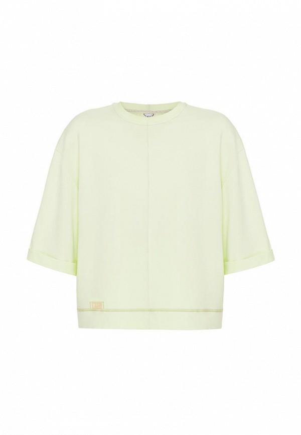 футболка с коротким рукавом i am для девочки, зеленая