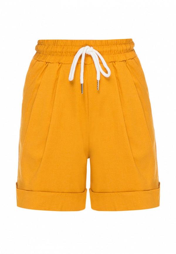 шорты i am для девочки, желтые