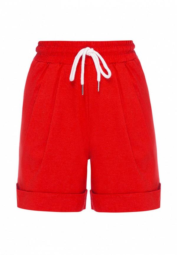 шорты i am для девочки, красные