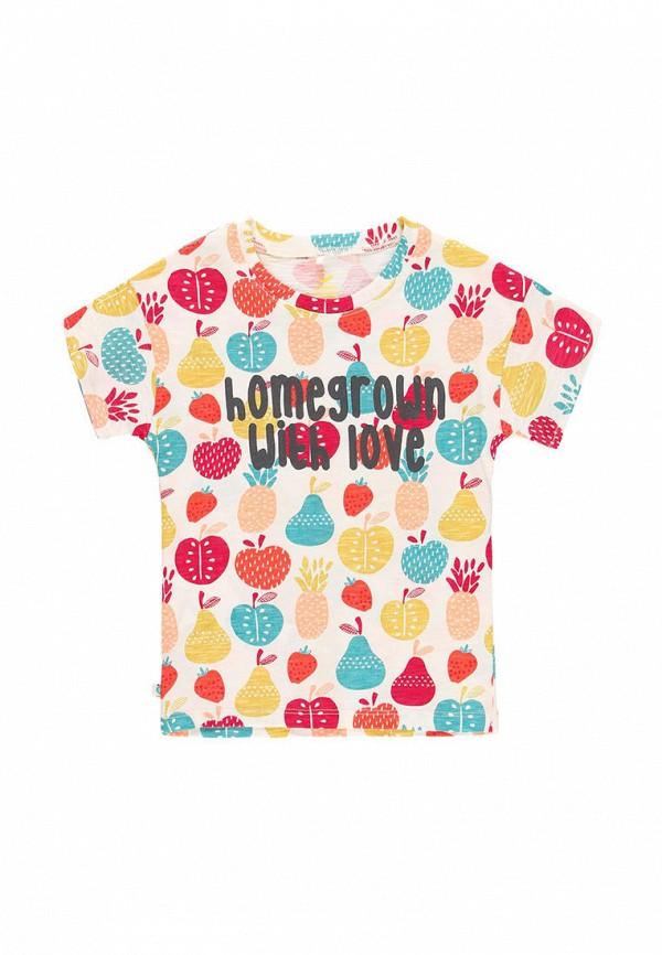 футболка с коротким рукавом boboli для девочки, разноцветная