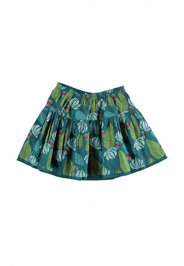 юбка du pareil au même для девочки, разноцветная