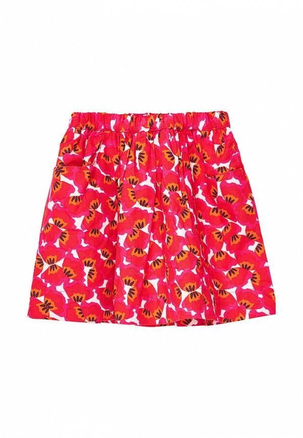 юбка du pareil au même для девочки, красная
