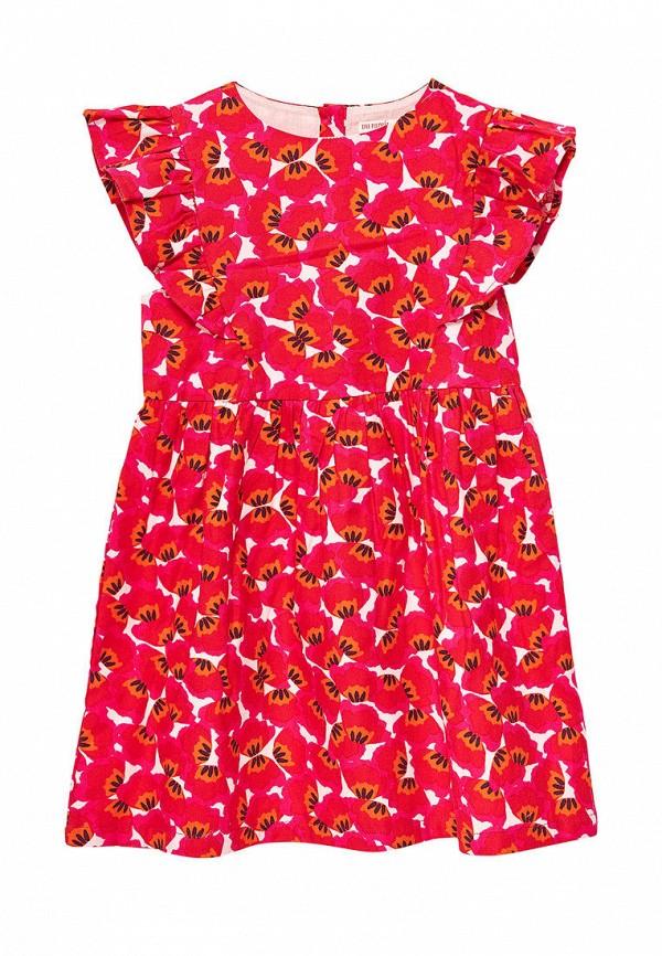 повседневные платье du pareil au même для девочки, красное