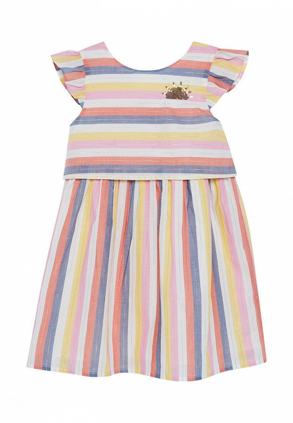 повседневные платье du pareil au même для девочки, разноцветное