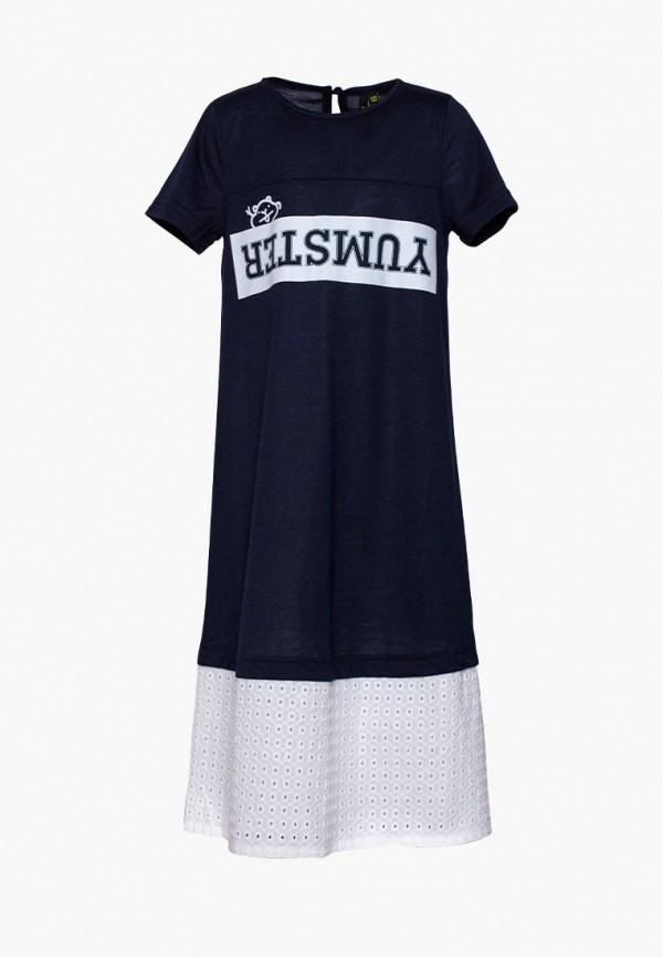 повседневные платье yumster для девочки, синее