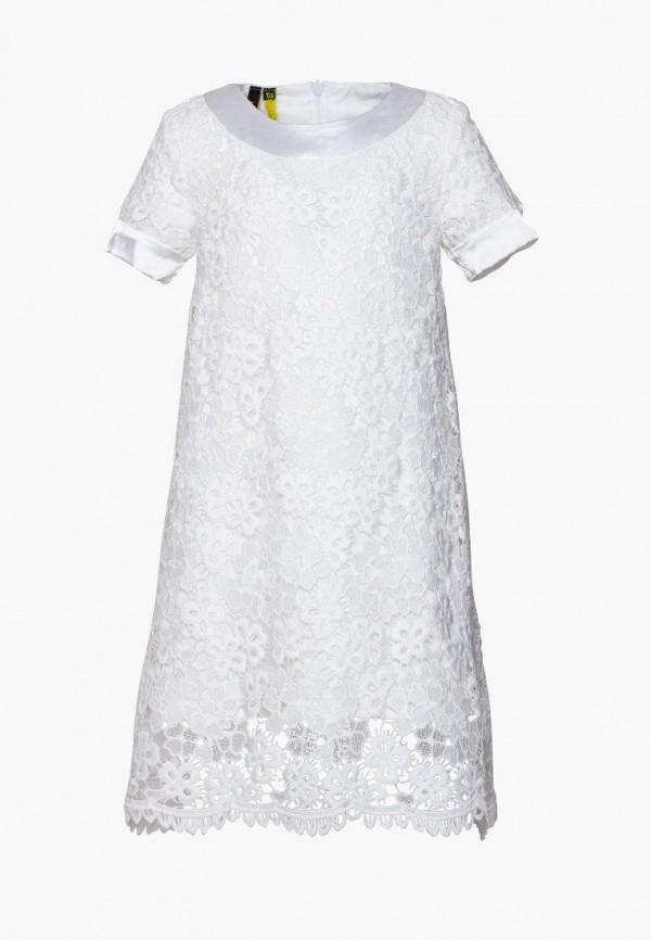 платье yumster для девочки, белое